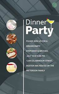 Dinner Party Invitation Card Animated Funny Dinner Party Invitation Dinner Party
