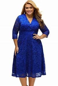 robes ceremonie grande taille femme bleu dentelle mi With robe de cérémonie grande taille pas cher