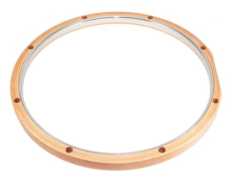 Dunnett Rmwh814 14 Hybrid Hoop 8 Holes Maple Steel
