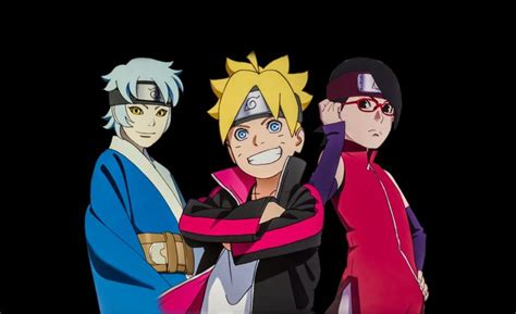 Boruto Sarada Mitsuki Team Wallpaper 2 By Weissdrum On