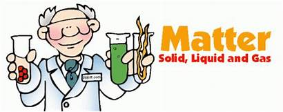 Matter Science Gas Solid Liquid Clipart States