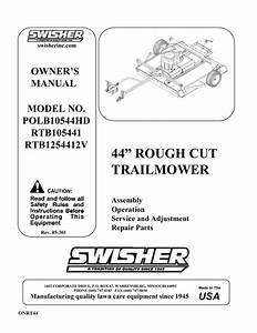Swisher Mower Parts Diagram