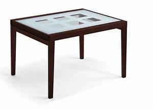 Table Verre Extensible : table bois verre extensible ~ Teatrodelosmanantiales.com Idées de Décoration