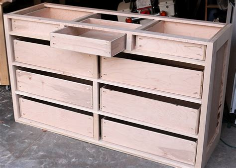 how to build drawers how to build a dresser