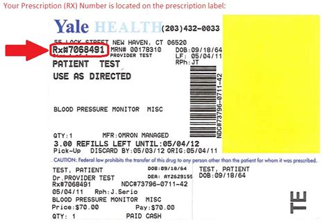 accredo pharmacy refill phone number yale health refill requests