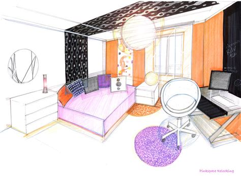 chambre architecte relooking chambre pop 13 pinkspace clain