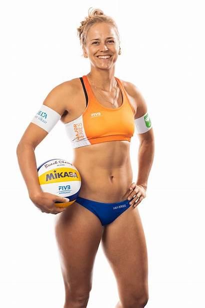 Marleen Iersel Van Volleyball Beach Height Flier