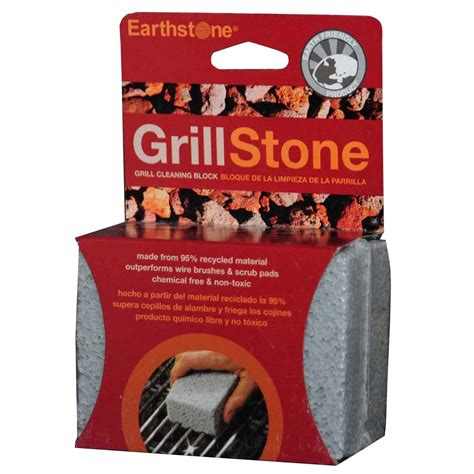 earthstone grill stone cleaning block