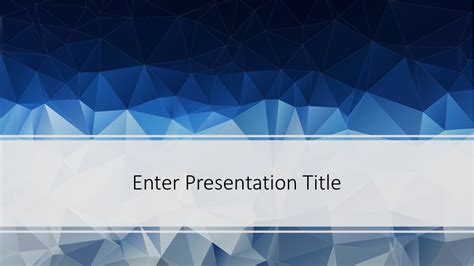 poly powerpoint template  powerpoint templates