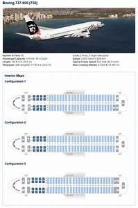 Delta Flight Seating Chart Alaska Airlines Boeing 737 800 Aircraft Seating Chart