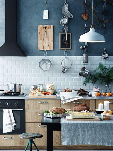 inspirations pour une cuisine bleu gris joli place