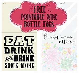 printable wine bottle tag filthy muggle With free wine labels to print