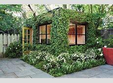 Charming Garden House Design and Beautiful Backyard