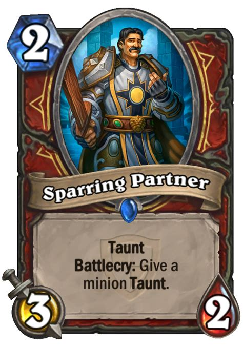 Warrior Decks Hearthstone Tgt by Sparring Partner Hearthstone Card