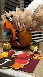 Turkey-inspired, Decorations, And, Crafts, For, Thanksgiving, Home