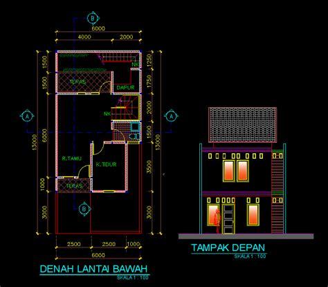 gambar desain rumah dwg gratis gambar puasa