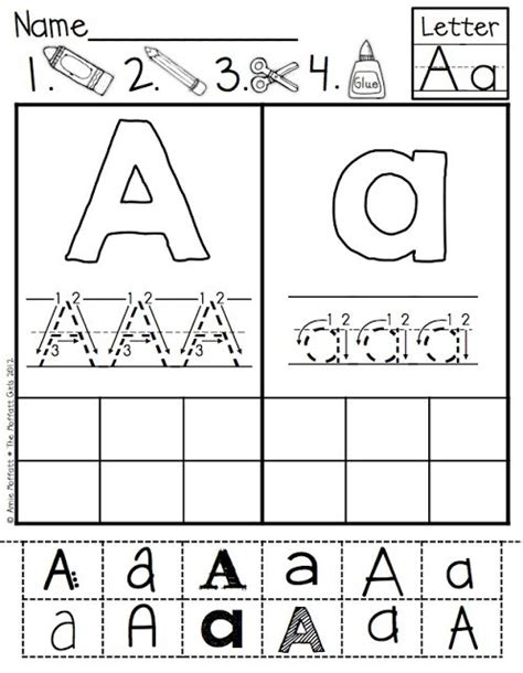abc cut and paste fonts helps with upper and lowercase letter identification letter formation