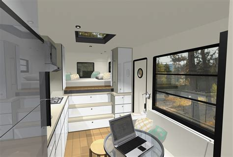Modern Motorhome Living Or A Tiny House?