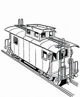 Train Coloring Freight Railroad Pages Caboose Bnsf Print Real Printable Template Getcolorings Sketch sketch template