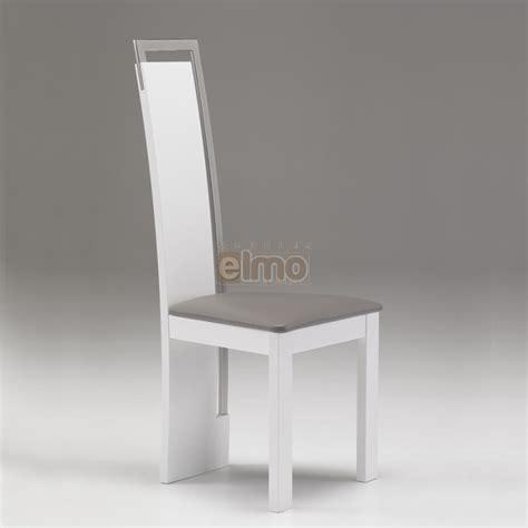 ensemble de table de cuisine chaise salle à manger design moderne bois massif et chrome