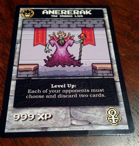 Each player is their own monster, building a dungeon out of cards which the town's heroes will enter, trying to steal your treasures. Boss Monster Review   Board Game Quest