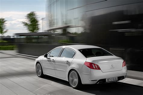 peugeot big cars 2011 peugeot 508 hybrid will be the greenest large car in