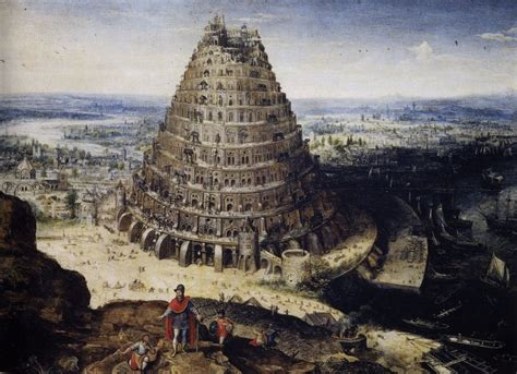 tour de babel moderne lucas valckenborch de toren babel 1594