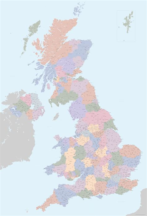 detailed map base   uk united kingdom maproom