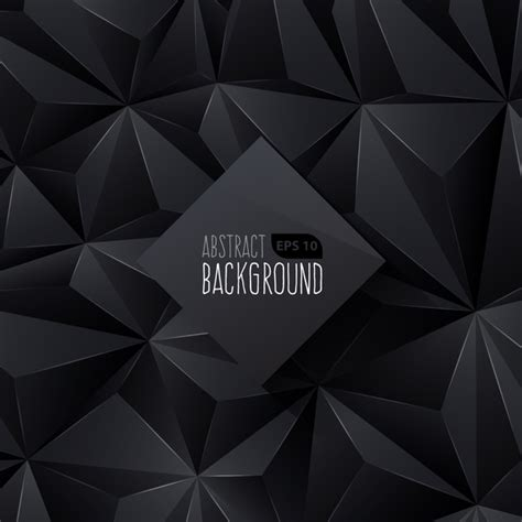 Abstract Black Triangle Background by Black Triangle Background Free Vector 55 419