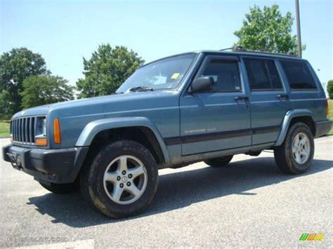 gunmetal blue jeep 1999 gunmetal pearl jeep cherokee sport 31331703