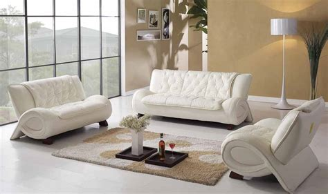 White Leather Living Room : White Leather Sofa Living Room Ideas