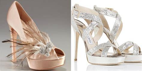 fashion foto foto sepatu pernikahan unik dan cantik