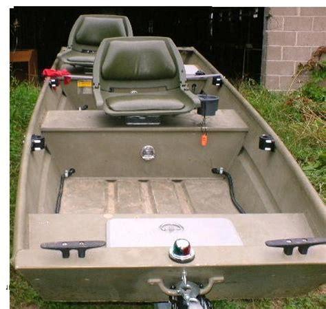 Jon Boat Seat Mount Ideas by 2005 Tracker Marine 1232 Jon Boat For Sale General Buy
