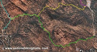 Trail Jordan Pass Cibola Sedona Hiking Mesa