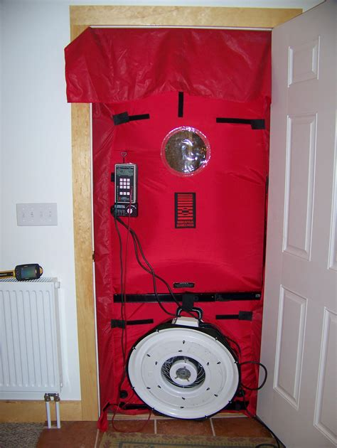 blower door test blower door test