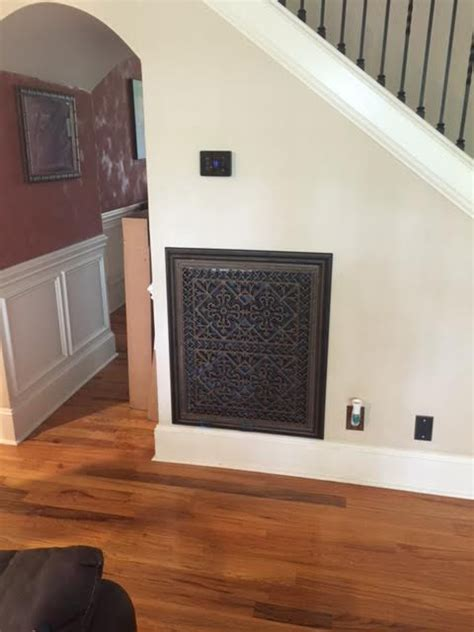 Decorative Return Air Filter Grille by Interior Design Top Eyesore Makeovers Beaux Arts Classic