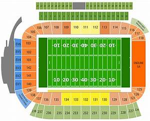 Chargers Seating Chart Chargers Seating Map
