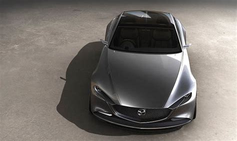 mazda vision coupe concept stunning  car debuts