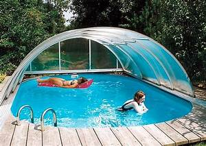 Pool Mit überdachung : pool schiebedach variable schwimmbecken berdachung ~ Michelbontemps.com Haus und Dekorationen