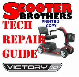 Ultimate Service Guide For Pride Victory 10 Scooter