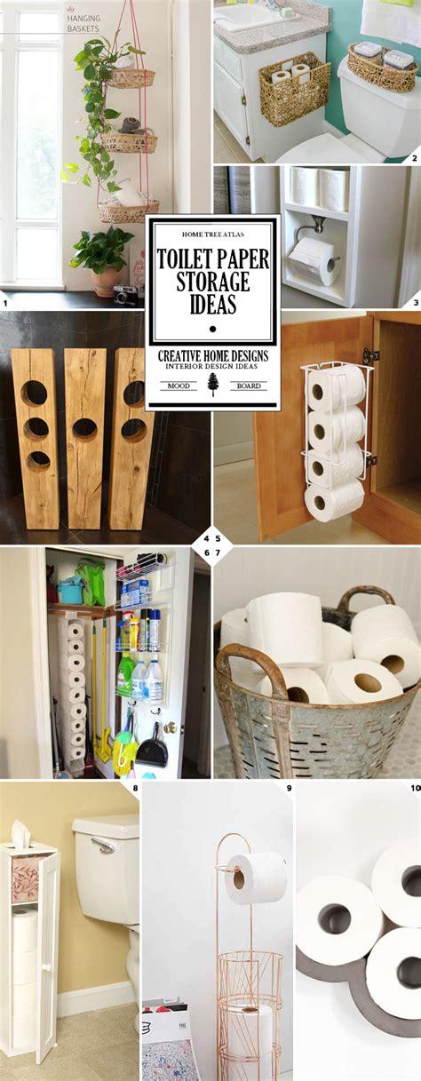 bathroom toilet paper storage ideas  styles home