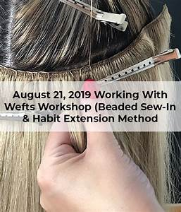 workshop working with wefts beaded sew in habit
