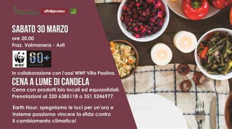 Cena Lume Di Candela by Ad Asti La Cena A Lume Di Candela Per Festeggiare L Ora