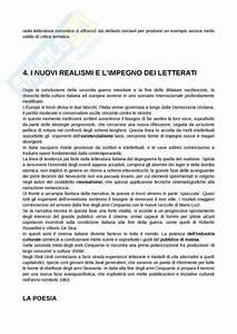 Novecento  Appunti Di Letteratura Italiana Contemporanea