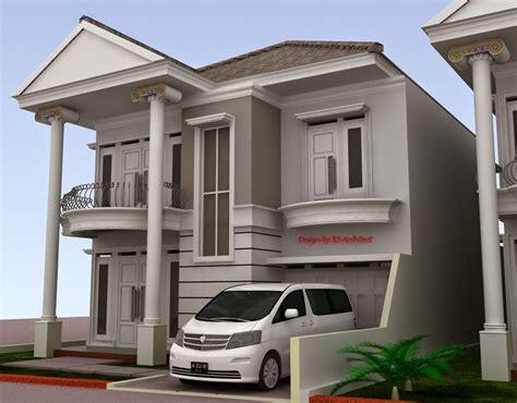 desain rumah  lantai klasik modern  desain rumah