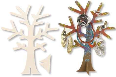 arbre en a decorer arbre porte bijoux en bois bijoux quot id 233 es cr 233 a quot 10 doigts 10 doigts