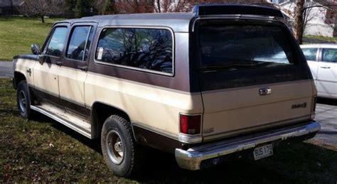 1984 Chevy Suburban Silverado 4x4