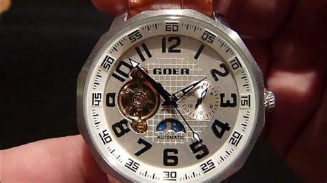 Goer automatic watch - YouTube