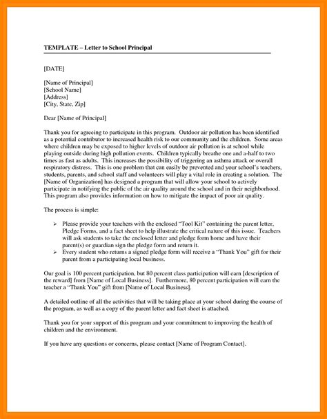 informal letter format  school students  world