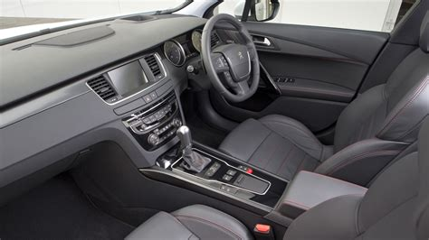 peugeot 508 interior peugeot 508 gt saloon 2017 review by car magazine